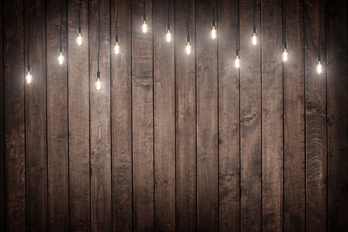 Dark Brown Wood Floor Photography Backdrops Retro Bulb Photo Background For  Photo Studio Newborn D
