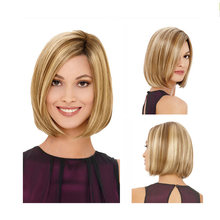 Short Lace Front Human Hair Wigs Blonde Human Hair Lace Frontal Wig Brazilian Hair Bob Wig For Black Women(China)