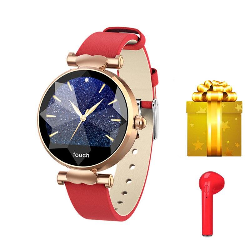 スポーツリストバンド腕時計女性のための血圧睡眠トラッカー女性生理サイクル smartband リロイスマートウォッチ VS ID115  グループ上の 家電製品 からの スマート リストバンド の中 1