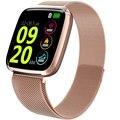 Смарт-часы с цветным экраном HD для женщин, цифровые водонепроницаемые Смарт-часы с пульсом, мужские спортивные часы с Bluetooth для дистанционно...