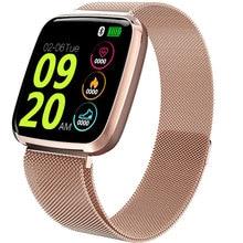 HD Color Screen Smart Watch Woman Relogio Digital Waterproof Heart Rate Smartwatch Men Sports Bluetooth Remote Photography