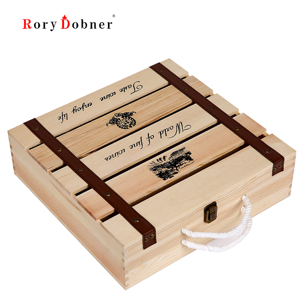 Online Get Cheap Wooden Gift Boxes for Wine Bottles -Aliexpress ...