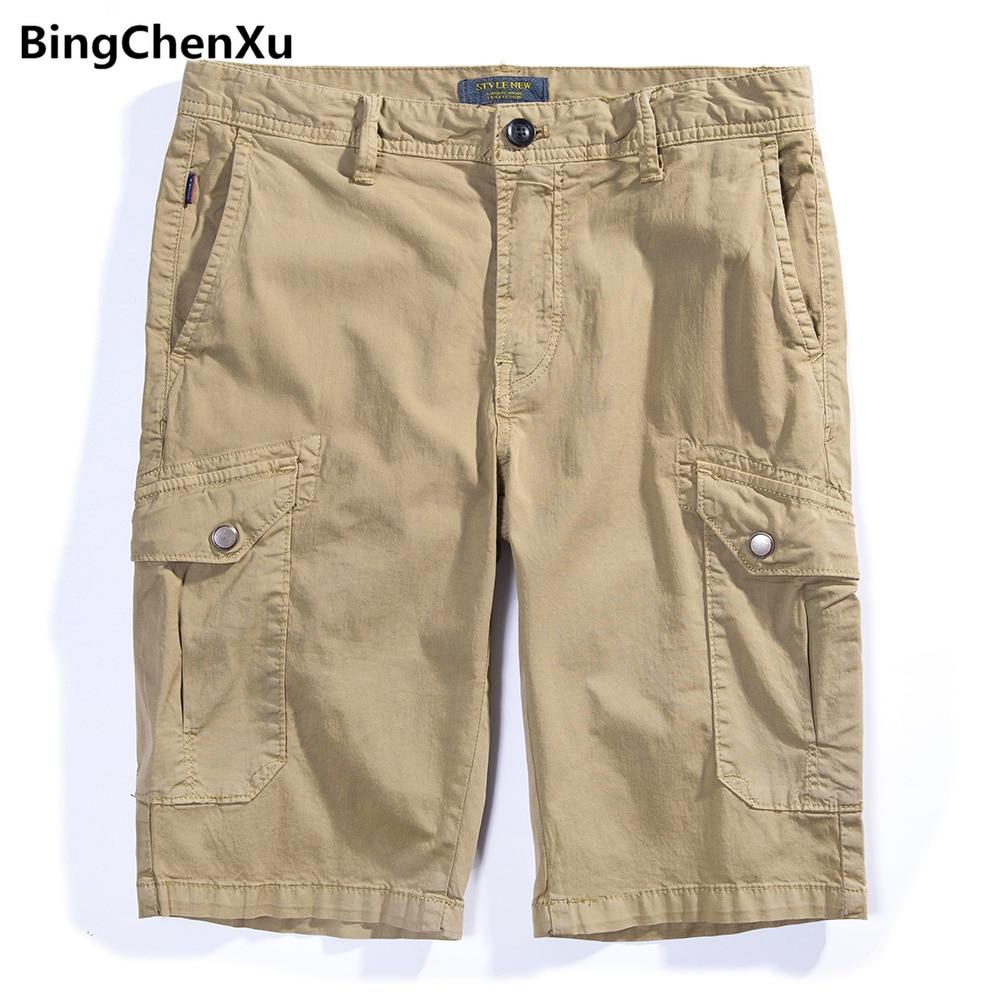 Casual Shorts Bingchenxu Shorts Männer 2018 Neuheiten Multi-tasche Shorts Masculino Heißer Verkauf Sommer Marke Kleidung Casual Bermuda Hosen 959