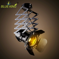 Industrial E27 LED Ceiling Lamp Decoration Living Room Bar Shop Coffee Commercial Lights spotlights Track Fixtures