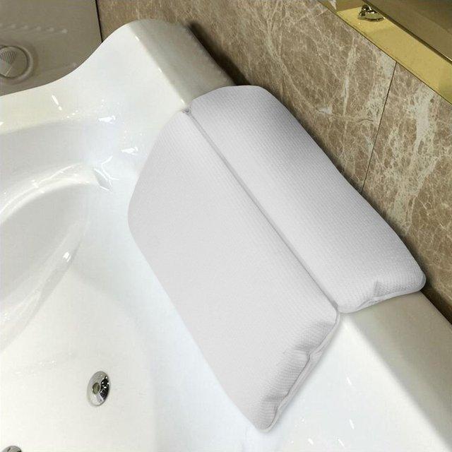 Ванная комната Ванна подушка ванна спа подголовник водонепроницаемые подушки с присоской