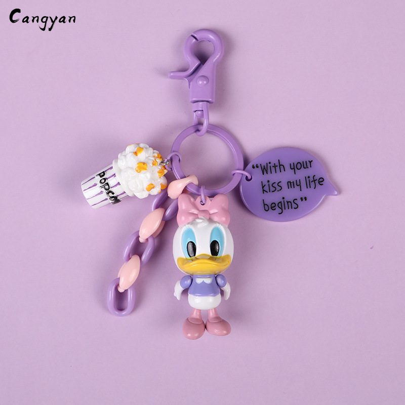 Image 4 - Cute Animal Toy Duckling Pendant Cute Creative Gift Bag Accessories Popcorn Lollipop Kids Prize Couple Toys-in Plush Wall Stuff from Toys & Hobbies