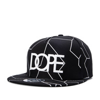 Free Shipping 2017 Fashion Cotton Brand Letter High Quality Caps Cool Print Baseball Cap Boy Hip