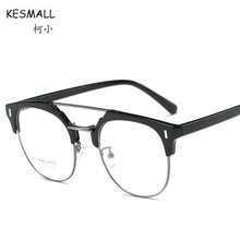 dcb168b350 KESMALL 2018 New High Quality Prescription Glasses Men Women TR90 Optical  Eyewear Frames With Myopia Lens