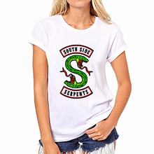 508ee29d2 Poleras De Mujer Moda 2018 Summer Riverdale Harajuku Kawaii T Shirt Women  Vintage Printing Lado Sur