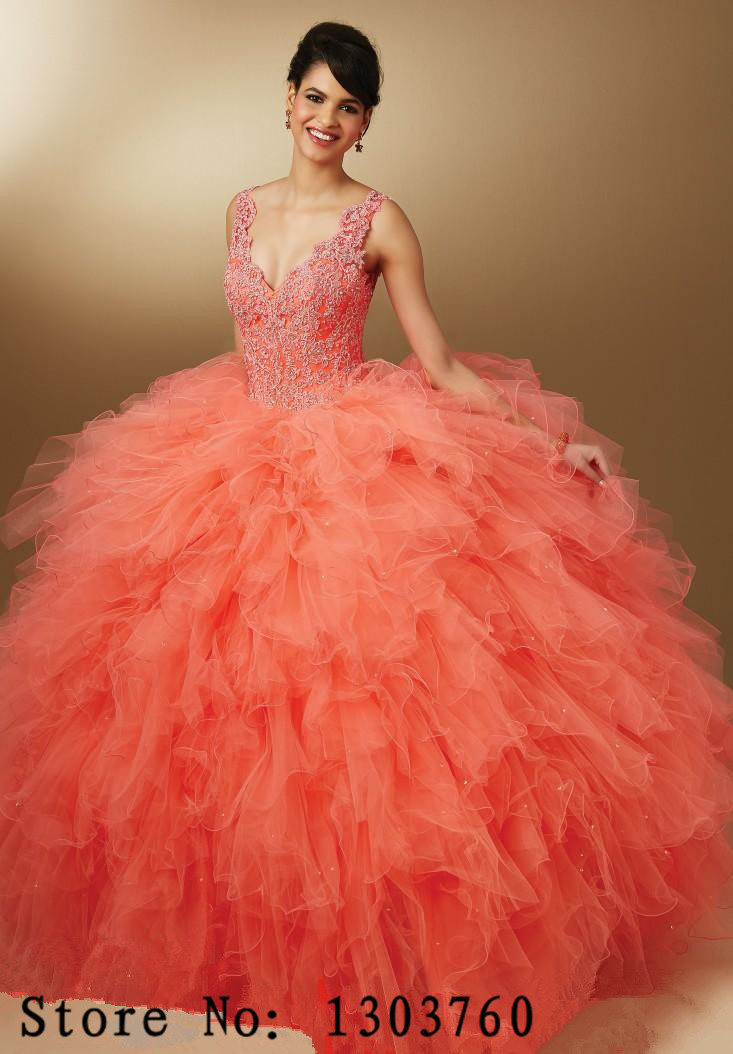 Compare Prices on Coral Quinceanera Dresses- Online Shopping/Buy ...