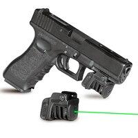 Laserspeed Quick target 532nm 5mw green laser sight pistol laser piointer 9mm glock handgun laser scope