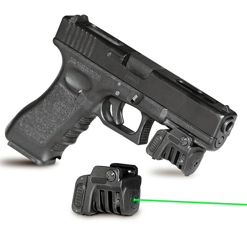 Laserspeed Quick target 532nm 5mw green laser sight pistol laser piointer 9mm glock handgun laser scope in Lasers from Sports Entertainment