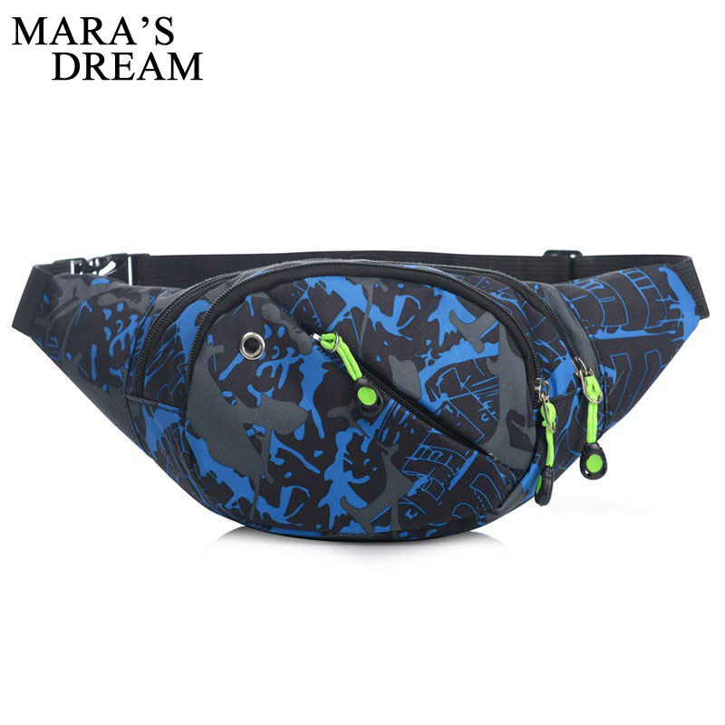 Maras Dream Belt Bags Fashion Men Unisex Waist Fanny Bag Hip Money Belt Travelling Mountaineering Mobile Phone Bag Waist Packs