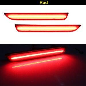 Image 5 - IJDM Cho Xe Mustang LED Phía Sau Dấu Đèn Với 96 SMD 4014 Đèn LED Dành Cho 2015 2017 Ford Mustang Trắng đỏ 12V