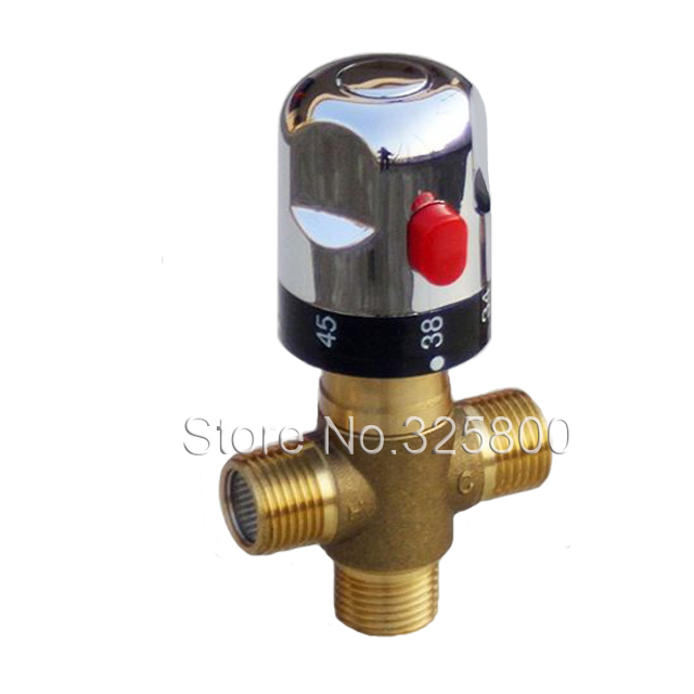 Bronze Thermostatic Shower Mixing Valve: Free Shipping Brass Thermostatic Valve, Temperature Mixing