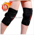Tourmaline self heating kneepad Magnetic Therapy knee support tourmaline heating Belt knee Massager massage stone