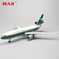 Kid Airplane Model Toys Inflight 1:200 Diecast McDonnell Douglas DC 10 30 Asia PIA AP AXD Airplane Toy for Collection Gift