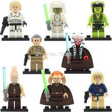Star Wars PG8051 Oola Shaak Ti Luke Figure Saesee Tiin Jedi Consular Han Solo Ki Adi