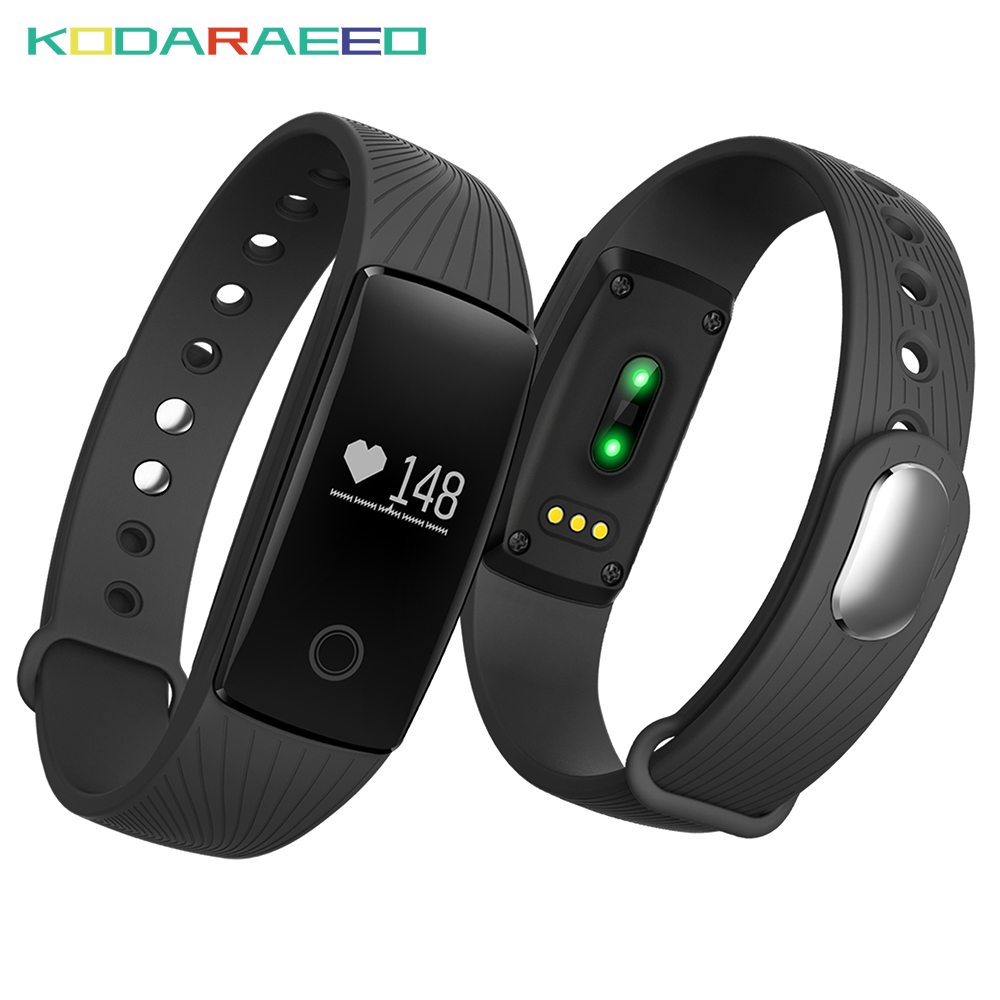 V05C Smart band waterpfoof Heart Rate Monitor smart wristband FitnessTracker cardiaco wearable devices for iOS Android Smart wat