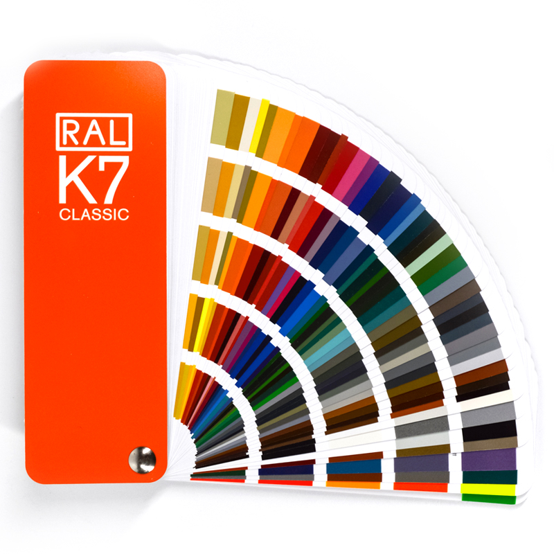 Germany RAL K7 International Standard 213 Colors Card Raul - paint coatings color card with Gift Box with Shipping Fee ral swatch