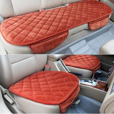 Cojín del asiento de coche cálido y suave funda de asiento de coche - Accesorios de interior de coche - foto 1