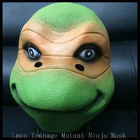 Spedizione gratuita Festa di Halloween Cosplay Teenage Mutant Ninja Turtles Maschere di Halloween Maschere Ninja Turtles TMNT Maschera di Film in magazzino