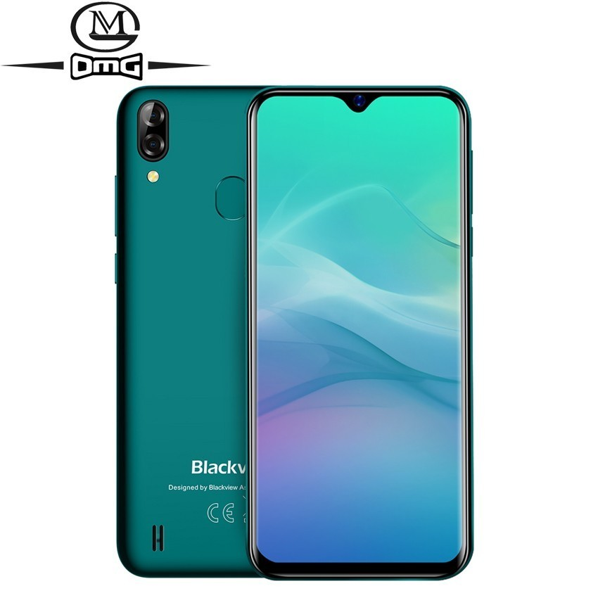 Blackview A60 Pro Android 9 0 pie cell phone MTK6761 Quad core 4080mAh phones 3GB 16GB