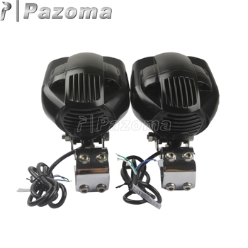 "USB Charge Motorcycle Headlight Spotlight Fog Lights with 1-1/4"" Bracket For BMW R1200GS For Chopper Bobber"