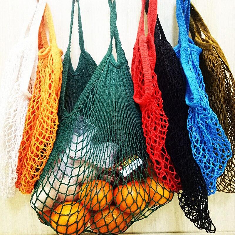 Новая Сетчатая Сумка, сумка для покупок, многоразовая сумка для хранения фруктов, женская сумка для покупок, сумка для покупок из хлопка|Хозяйственные сумки|   | АлиЭкспресс - Шоперы с Алиэкспресс