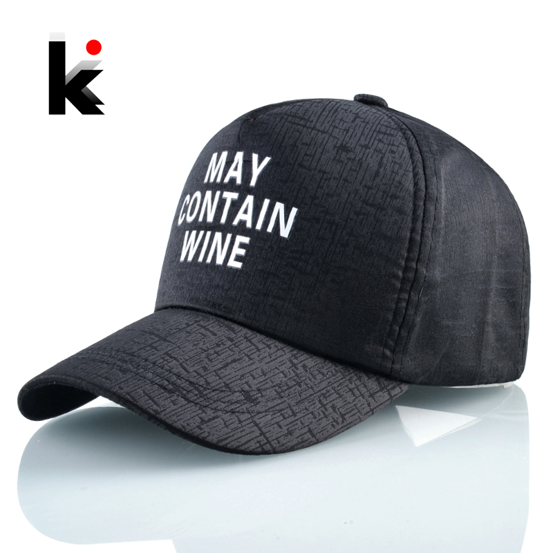Trucker Cap Baseball-Caps Snapback Black Hat Letter Hip-Hop Sport Unisex Fashion Women