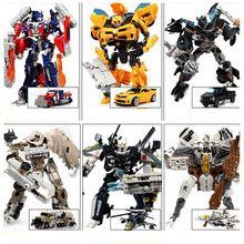 Baru Robot Transformasi Mainan untuk Anak-anak Hadiah PVC Robot Action Figure Mainan Mobil Robot Deformasi Mainan Hadiah Ulang Tahun