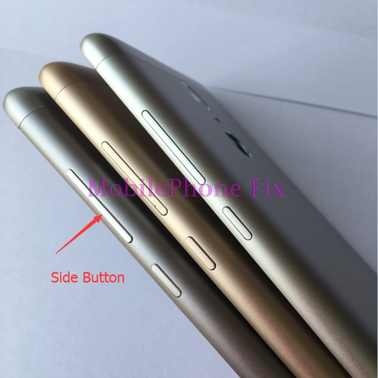 5xFor Xiaomi Redmi Note 3 Pro 152mm Special Edition SE Metal Back Battery Housing Door Cover +Side Button Set+ Camear Lens Cover