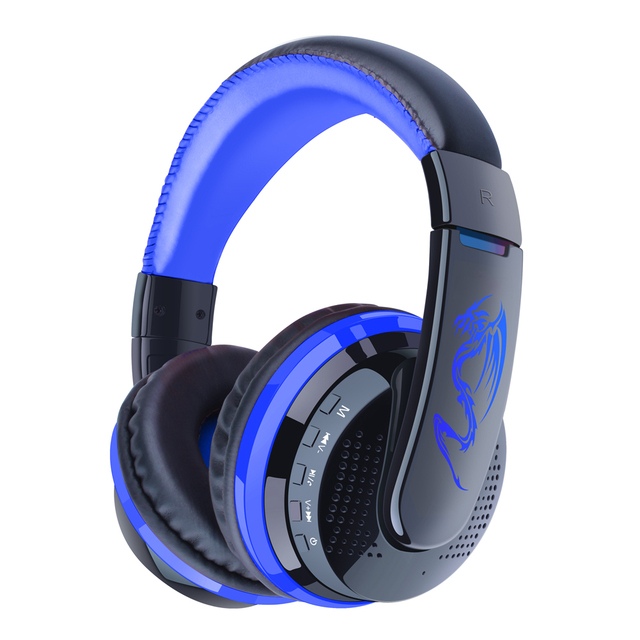 New 100% Original MX666 Wireless Bluetooth Headset Stereo Headphone W/Mic Over-Ear For PC Phones 3 colors