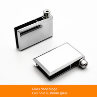 Glass Door Hinge Glass Upper And Lower Clamping Glass Hinge Cupboard Door Glass Top And Bottom