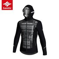 Santic 2017 New Men Winter Cycling Jacket Thermal Fleece Windproof Warm Bike Bicycle Jacket Tour De