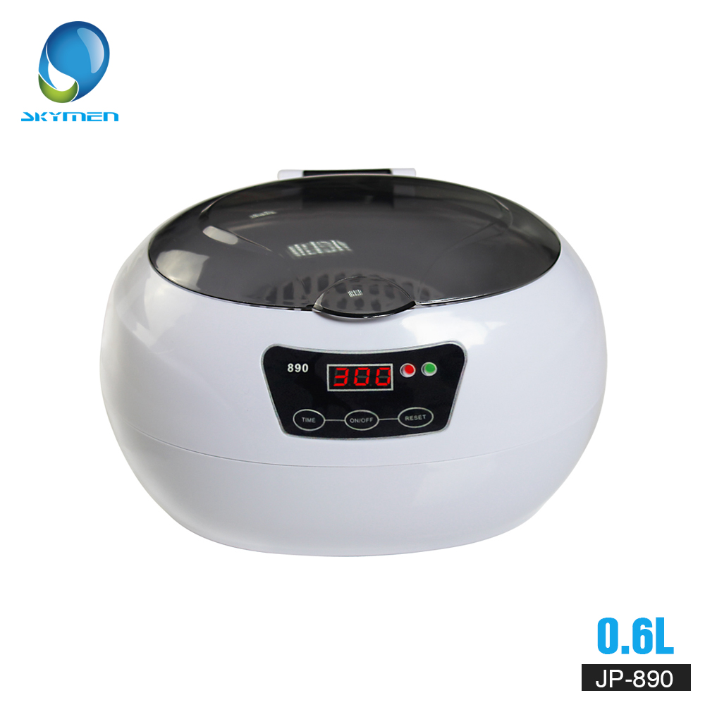 Skymen Digital Ultrasonic Cleaner Machine Basket Jewelry Watches Dental manicure coins 0.6L 35W 40kHz Ultrasonic BathSkymen Digital Ultrasonic Cleaner Machine Basket Jewelry Watches Dental manicure coins 0.6L 35W 40kHz Ultrasonic Bath
