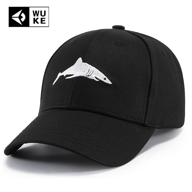 Strapback Hat Fisk Baseball Cap Sommar Utomhus Shark Hattar För Män - Kläder tillbehör