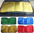 gold green red blue silver Car Window Sunshade prevention Snow and ice For Car Sun Shade Reflective Foil  Anti-UV car covers