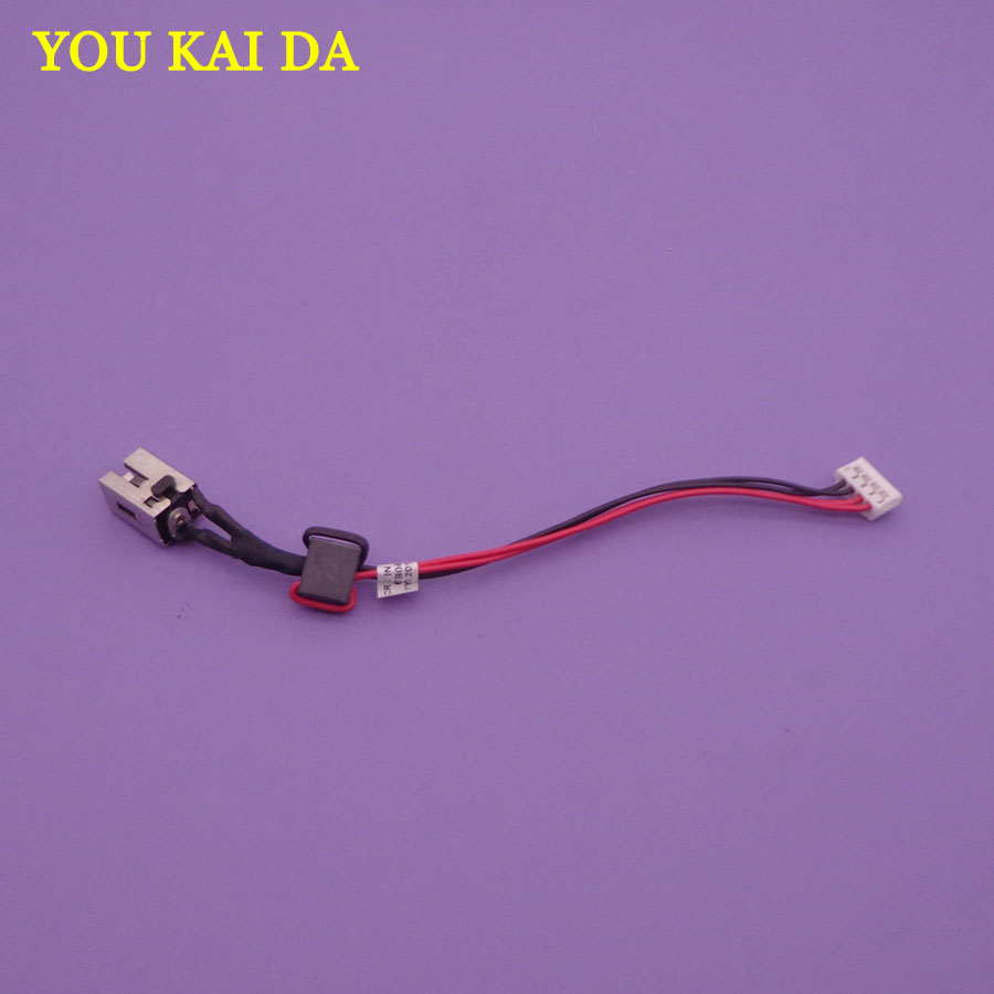 1pc NEW laptop DC Power Jack with cable for Toshiba Satellite C50 C55 C55D C55T DC Jack Power|jack power|jack dc|jack jack - title=