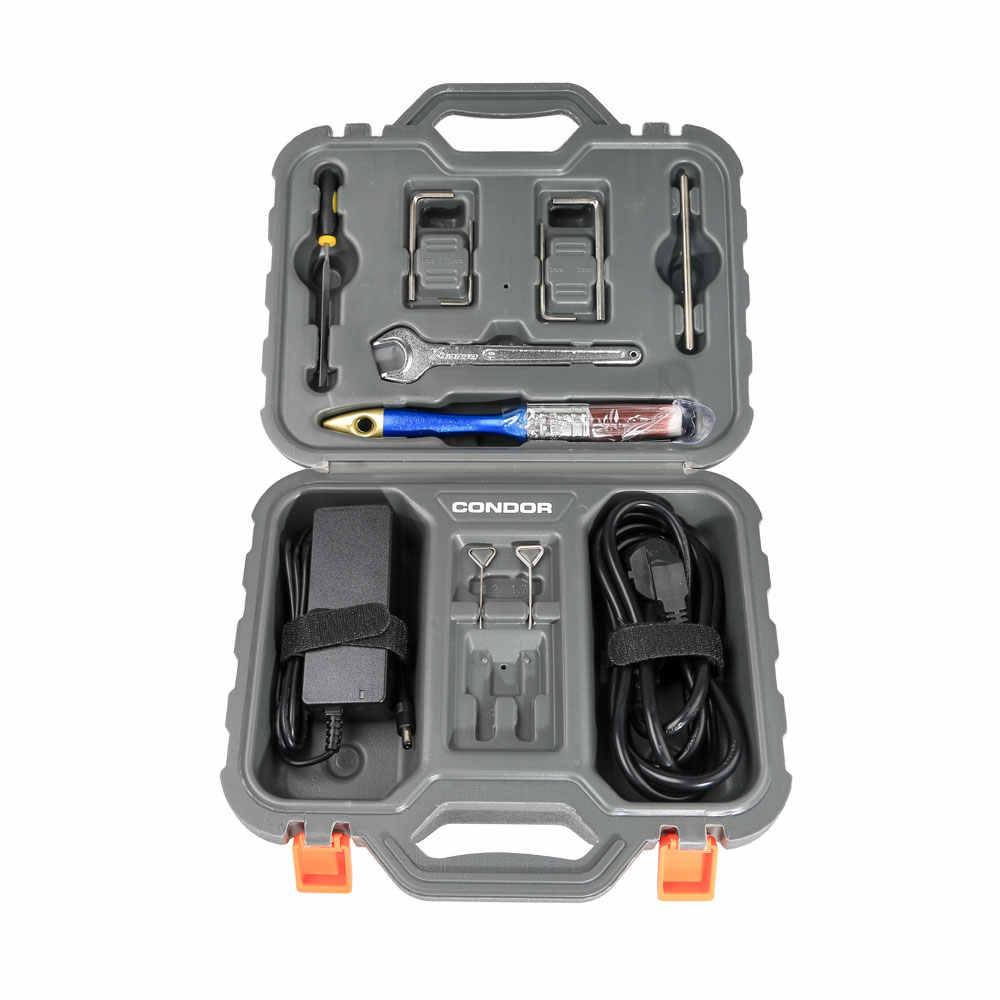 Xhorse Condor XC-009 anahtar kesme makinesi için pil ile tek taraflı ve çift taraflı tuşları daha ucuz XC-MINI condor XC009