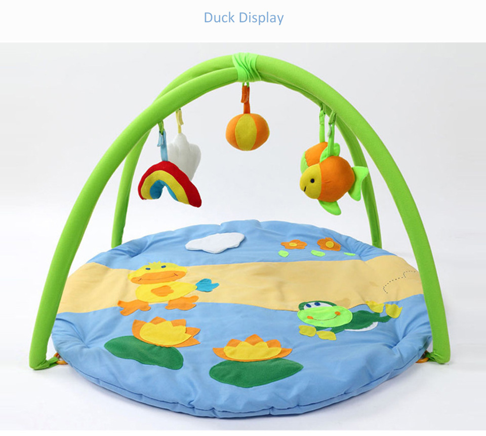 Haute qualité deux types de couverture de jeu de bébé ramper l'éducation précoce Gym jouer bande dessinée Tapete Mat Puzzle jouets cadeau - 2