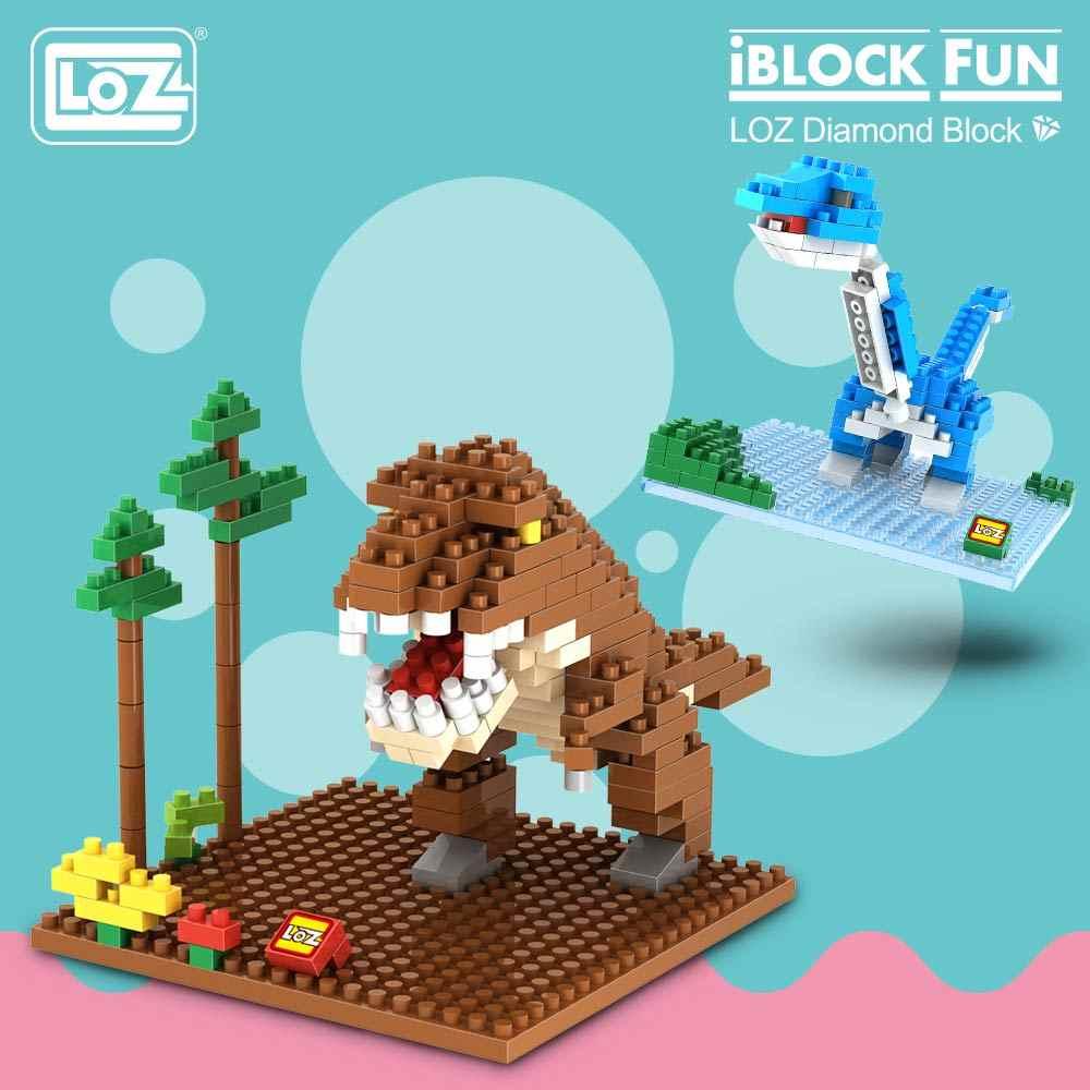 LOZ Diamond Blocks Fossil Dinosaur Jurassic Dinosaurus Toys