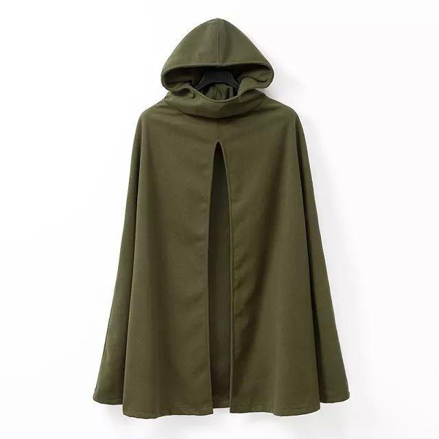 Женская одежда Внешней Торговли Новый Шаблон Европейский Осень Новый Шаблон Даже Шляпа Кардиган Плащ Ветровка Свободные Пальто куртки