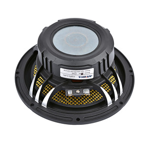 Image 5 - مكبر صوت للسيارة 6.5 بوصة عالي القوة 4 8 أوم 60 وات 25 أساسي من الألومنيوم حوض موسيقي مكبر صوت