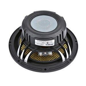 Image 5 - 6,5 дюймовый автомобильный аудио низкочастотный бас динамик высокой мощности 4 8 Ом 60 Вт 25 ядер пули алюминиевый таз музыкальный сабвуфер громкий динамик