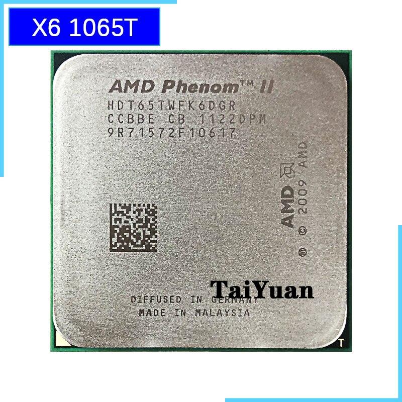 AMD Phenom II X6 1065T 1065 2 9G 95W Six Core CPU processor HDT65TWFK6DGR Socket AM3