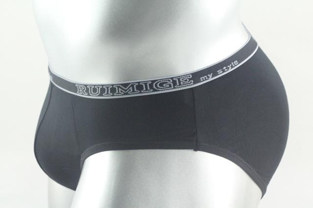 Good Price 2015 Bamboo Briefs Men 5 Colors L,XL,XXL,XXXL Plus Size Mens Bamboo Fiber Underpants Panties 5PCS/lot