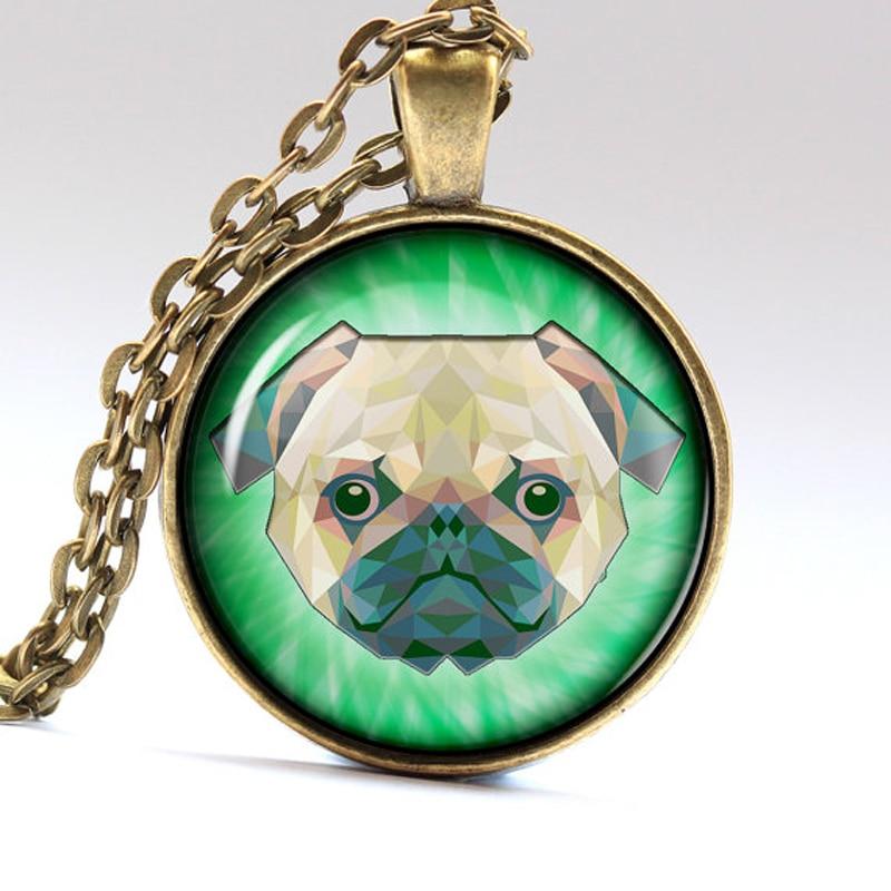 Dog Jewelry Pug Necklace Bulldog Pendant