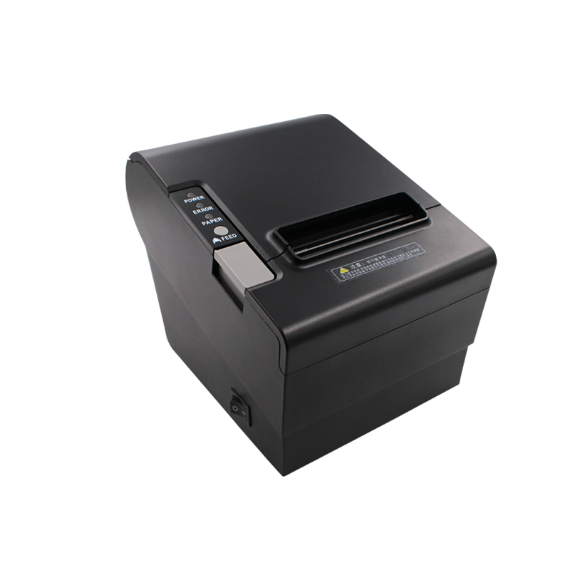 ФОТО Auto-Cutter 80mm Thermal Receipt Printer YK-8030 Straight Thermal Print Design for cash register USB, LPT,PS/2  in one