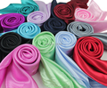 Cuadrados pañuelo de satén de seda de color sólido 90*90 cm hijab pañuelo de moda brillante y deslumbrante